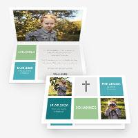 Dankeskarten zur Kommunion, Erstkommunion