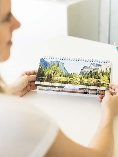 Tischkalender drucken lassen bei Dankeskarte.com