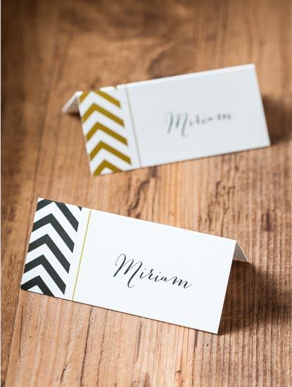 Tischkarten für die Hochzeit drucken lassen bei Dankeskarte.com