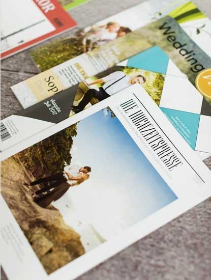 Hochzeitszeitungen drucken lassen bei Dankeskarte.com