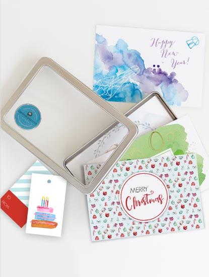 Kartensets um für alle Glückwunsch-Momente gerüstet zu sein von Dankeskarte.com