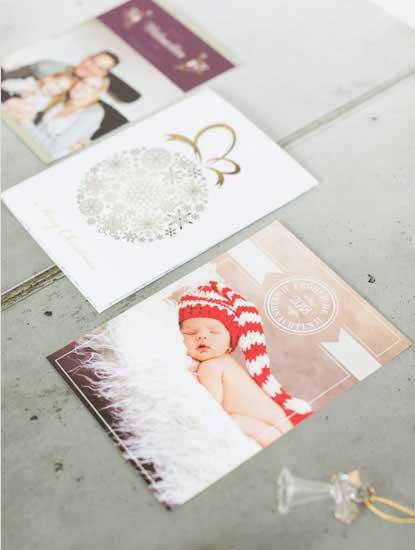 Weihnachtskarten für Familien und Unternehmen drucken lassen bei Dankeskarte.com
